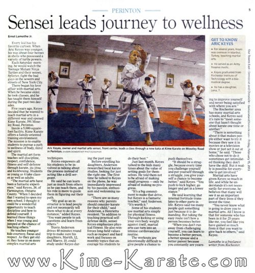 D&C article - wellness