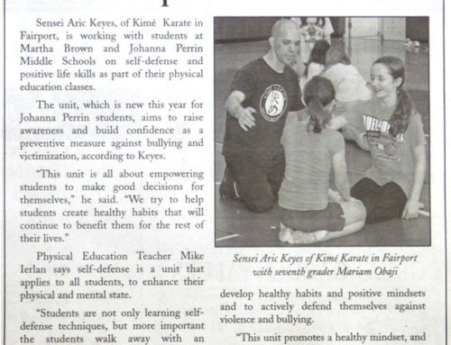 Middle School Students Learn Positive life Skills