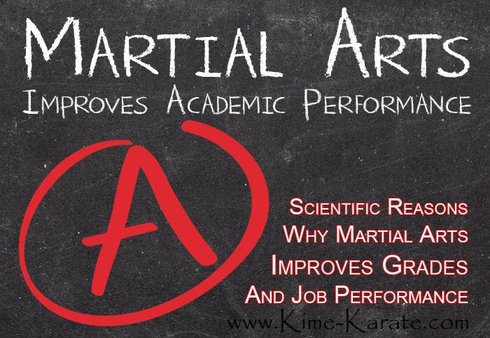 martial arts karate improves grades and job performance
