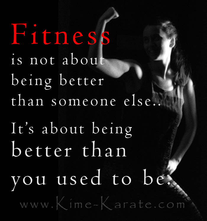 fitness better than you used to be