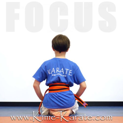 Kime Karate kids program in Fairport