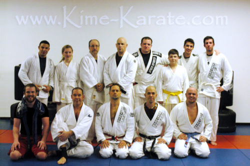 AKJJ seminar at Kime Karate in Fairport