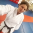 Laura Kleiman, one of the fantastic instructors at Kime Karate in Fairport