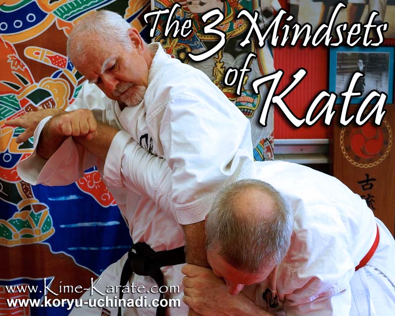 The 3 mindsets of kata by Hanshi McCarthy.