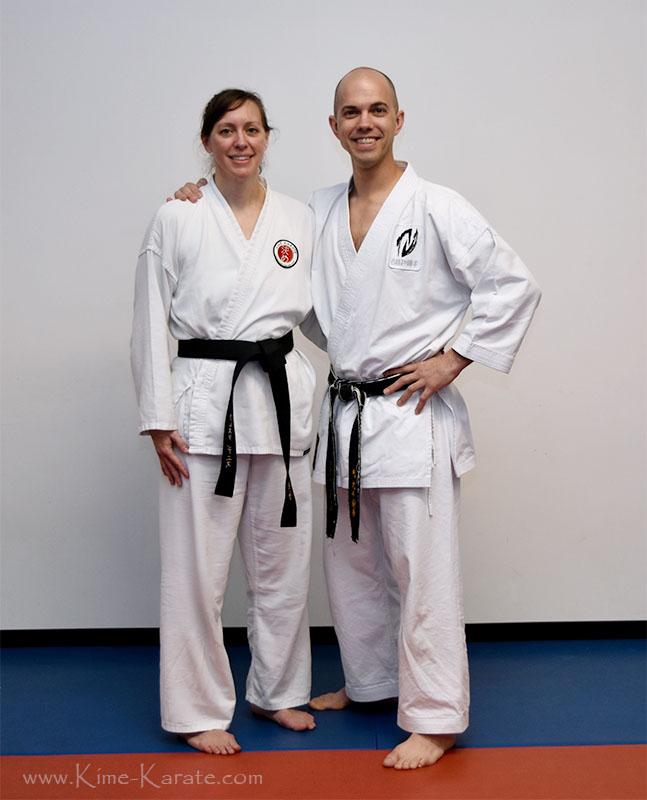 Crista Deniz promoted to black belt!
