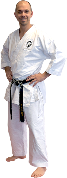 Sensei Aric Keyes from Kime Karate in Fairport