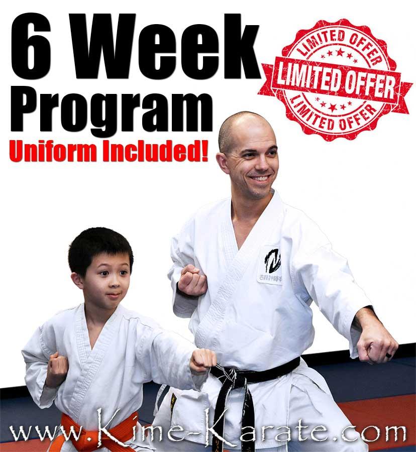 6 Week Karate Program